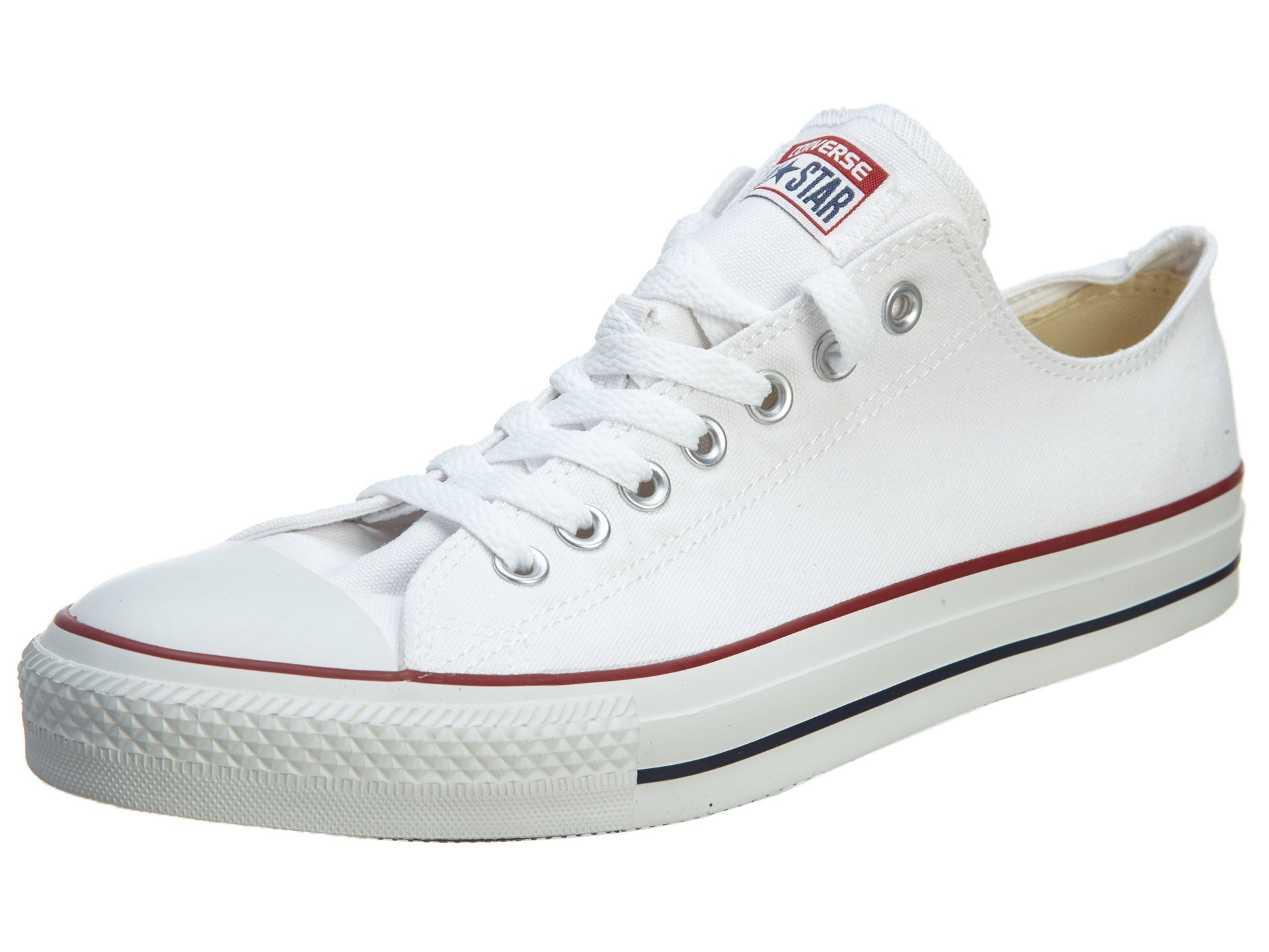 85b39a35f101 Converse Chuck Taylor All Star Ox Optic White Unisex Style X7652