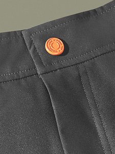 "Charcoal Brooklyn Shorts (Knee-length 7.5"")"