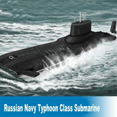Model Assembly Kit - Typhoon Class Submarine