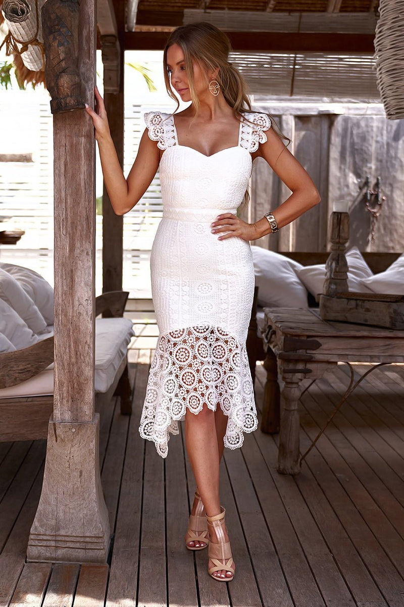 GISELLE DRESS - WHITE (PREORDER)