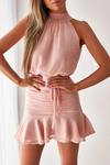 PIP MINI DRESS - BLUSH