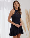 MILLIE DRESS - NAVY