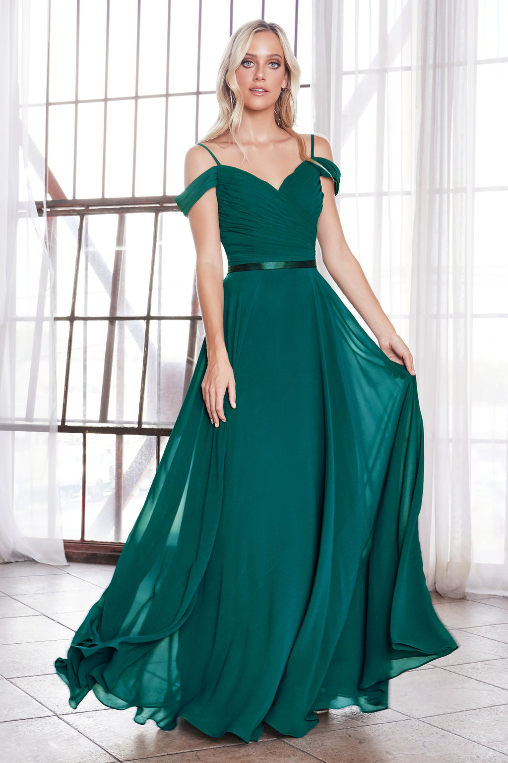 LILIANA GOWN - Emerald
