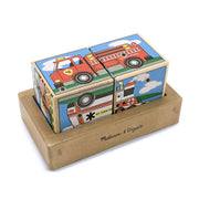 Sound Blocks Wooden Vehicles
