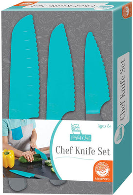Playful Chef: Chef Knife Set