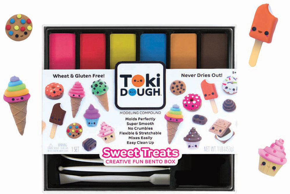 Toki Dough Sweet Treats Creative Fun Bento Box