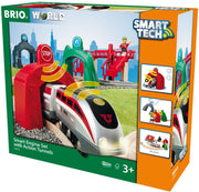 BRIO® SmartTech™ Smart Engine Set with  3 Action Tunnels