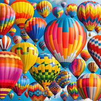 Balloon Fest 1000pc Puzzle