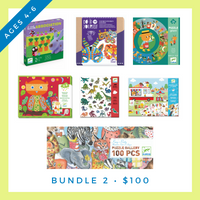Djeco Bundle #2 (4-6 years old)