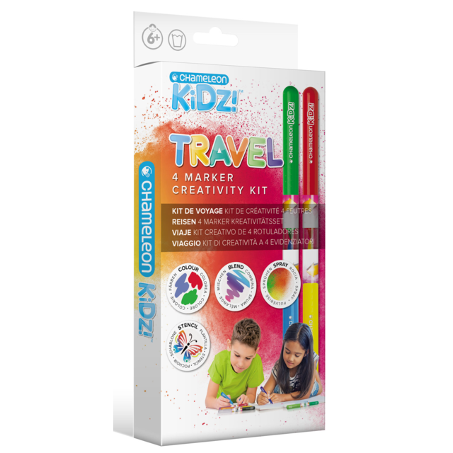 Chameleon Kidz Travel Marker Set