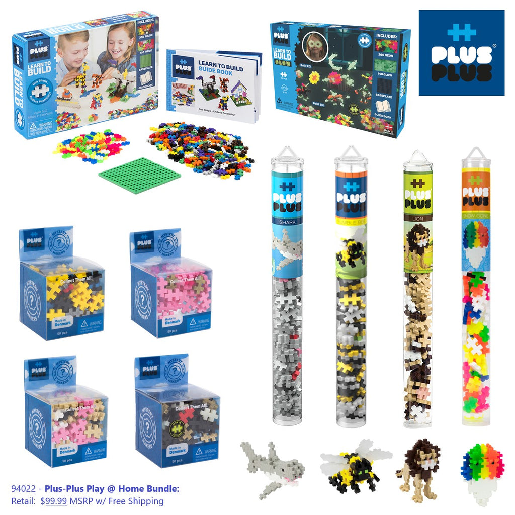 Plus-Plus Play @ Home Package