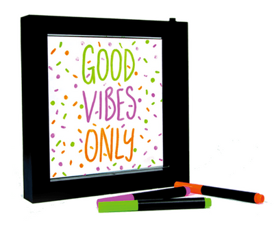 Light Up Neon Sign Writing Frame