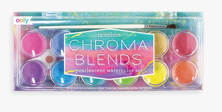Chroma Blends Pearlescent Watercolor Paint Set