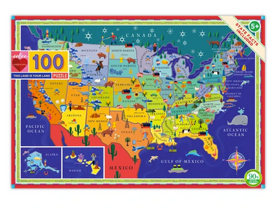 This Land is Your Land 100 Piece Puzzle