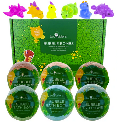 Dinosaur Bath Bombs Gift Pack