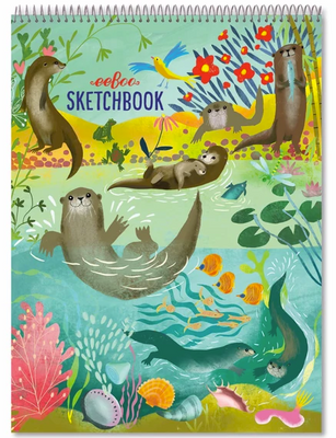 Otters Sketchbook