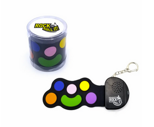 Micro Color Drum Keychain