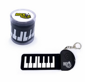 Micro Piano Key Chain