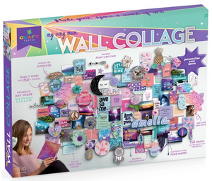 Craft-tastic Wall Collage