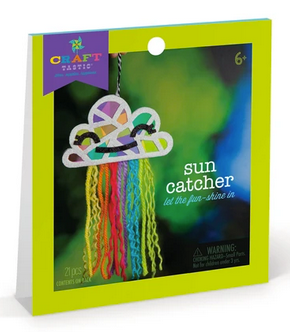 Craft-tastic Cloud Sun Catcher