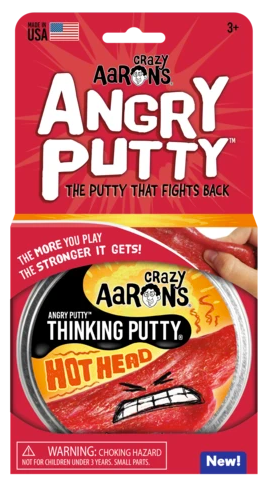 Hot Head Angry Putty