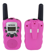 Retevis Walkie Talkie/Flashlight - Pink