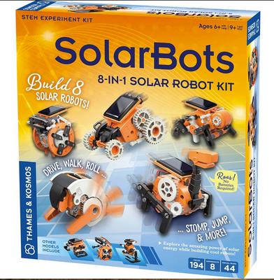 SolarBots 8-in-1 Solar Robot Kit