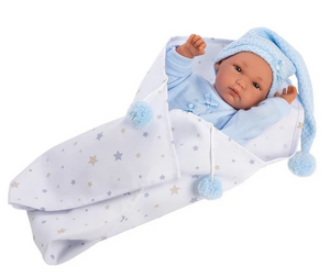 "Llorens 13.8"" Anatomically Correct Baby Doll- Kayden"