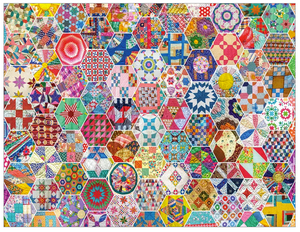 Crazy Quilts 500 Pc Puzzle