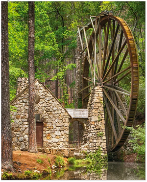 Water Wheel 1000 Pc Puzzle