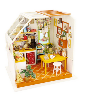 DIY MIni House Jason's Kitchen