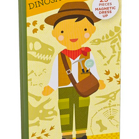 Dino Discovery Magnetic Dress Up Doll