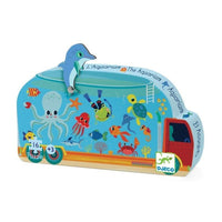 The Aquarium Mini Silhoutte 16 Pc Puzzle