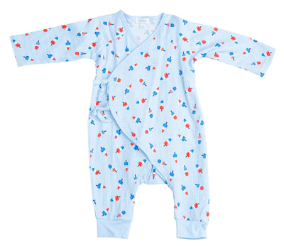 Astropop Wrap Coverall 3-6m