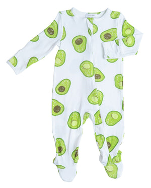 Avocado Footies 0-3m
