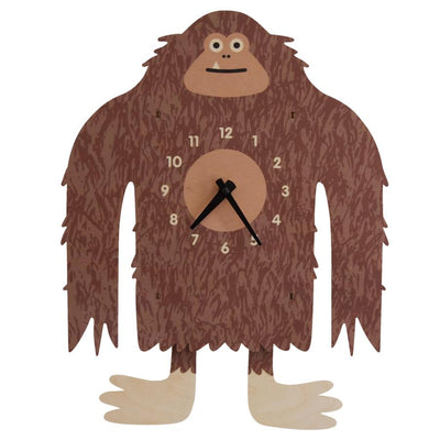 Bigfoot Clock