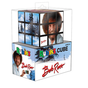 Rubik's Cube: Bob Ross Edition