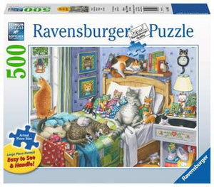 Cat Nap 500pc Large Format Puzzle