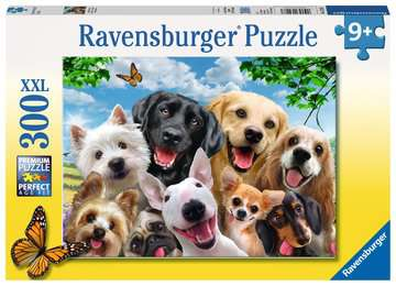 Delighted Dogs 300pc Puzzle