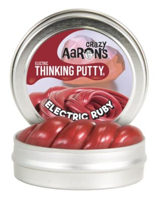 Electric Red Mini Thinking Putty