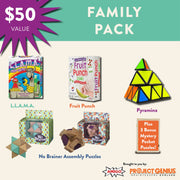 Family Game & Brain Teaser Package