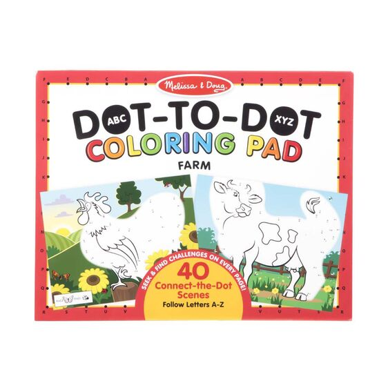 ABC Farm Dot-to-Dot