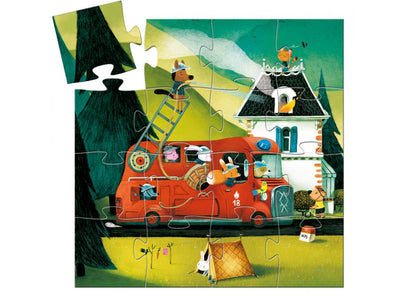 Fire Truck 16 Pc Puzzle