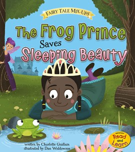 The Frog Prince Saves Sleeping Beauty
