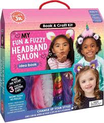 Klutz Jr My Fun & Fuzzy Headband Salon