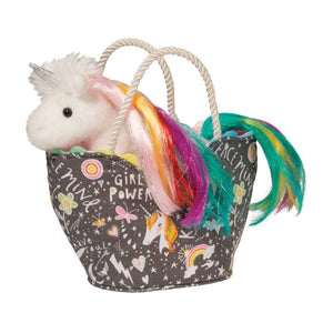 Girl Power Sassy Pet Sak Rainbow Unicorn