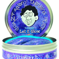 Crazy Aaron's Glow Thinking Putty Let it Glow