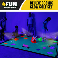 Deluxe Cosmic Glow Mini Golf