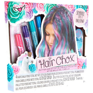 Unicorn Magic Hair Chox Glitter Hair Kit