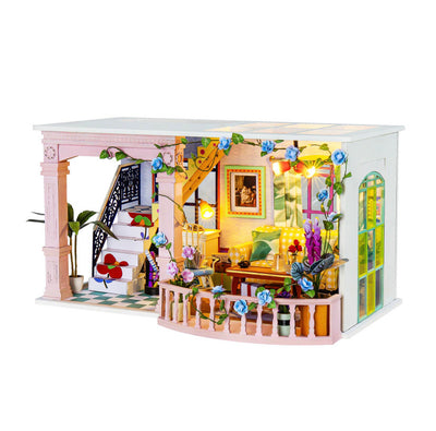 Sweet Patio DIY Mini Doll House